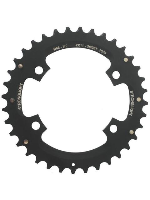 STRONGLIGHT MTB Shimano 2x11 Kettenblatt für XT FC-M8000/SLX außen schwarz